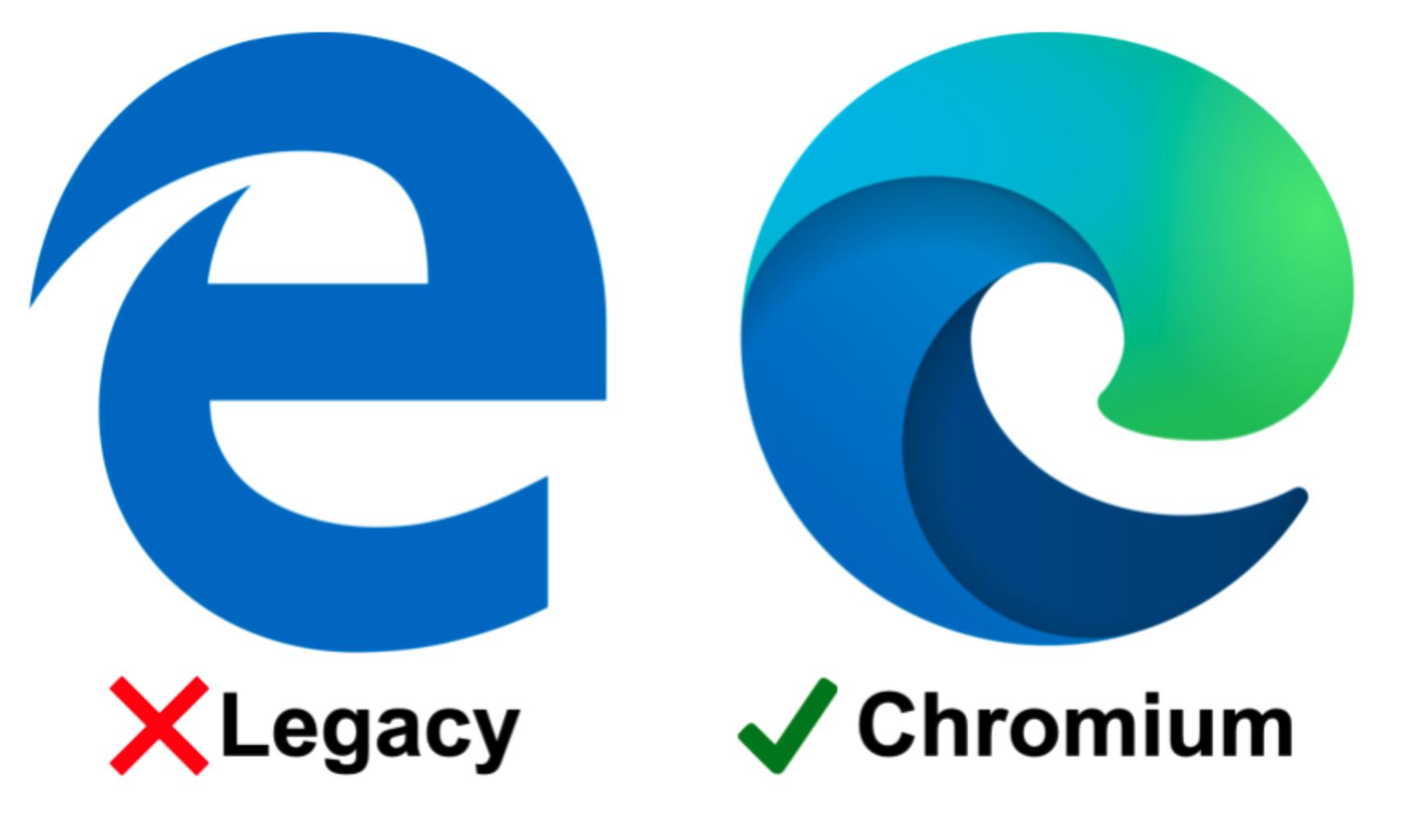 Legacy versus chroom