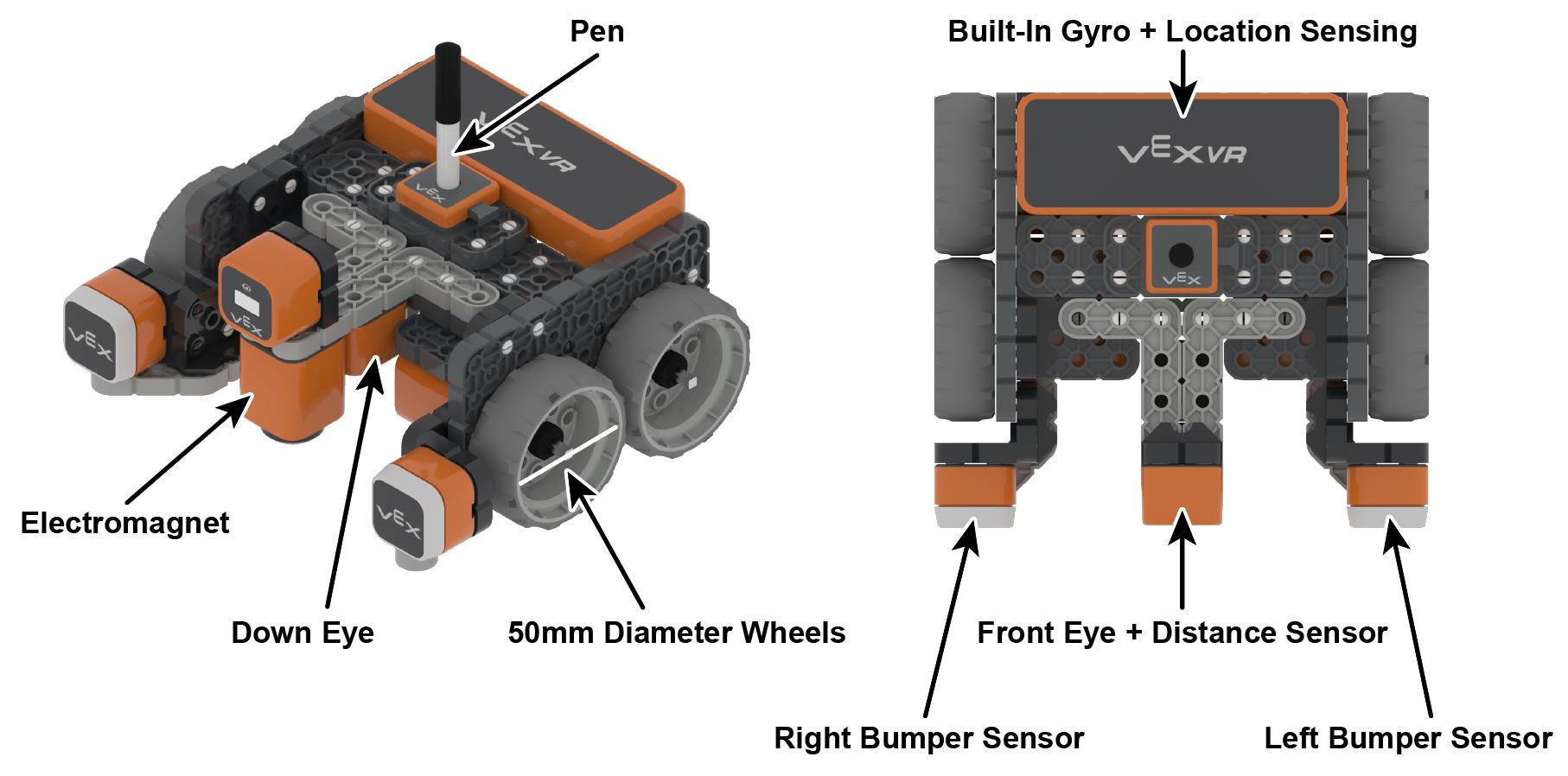 VR-robotonderdelen