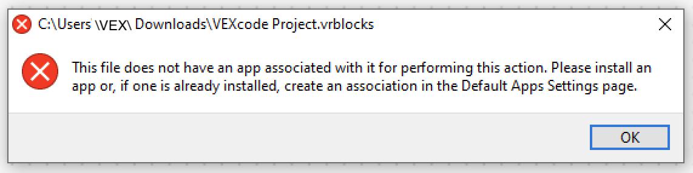Error de Windows