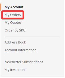 Mijn bestellingen