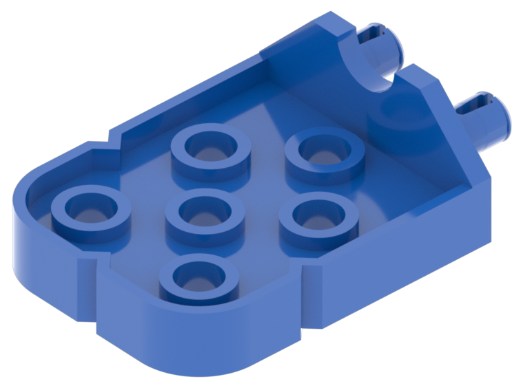 Blue connector