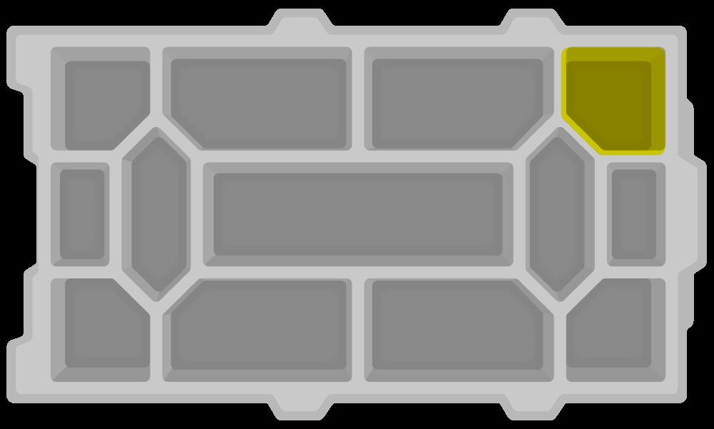 VEX IQ零件分类盘